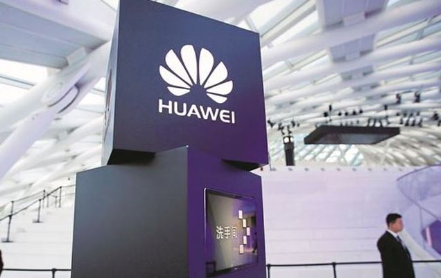 Huawei smartphone with under-display selfie camera