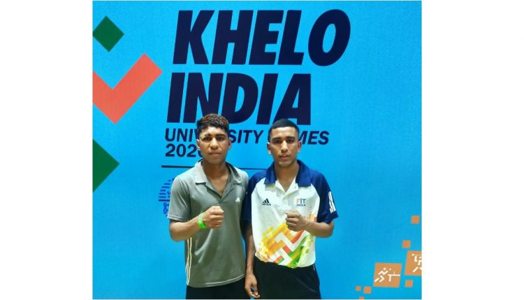 Boxer brothers compete with each other at Khelo India