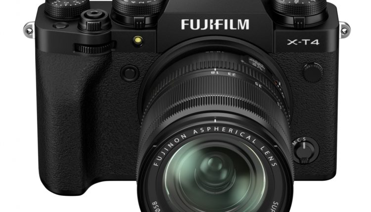 fujifilm X-T4 mirrorless camera