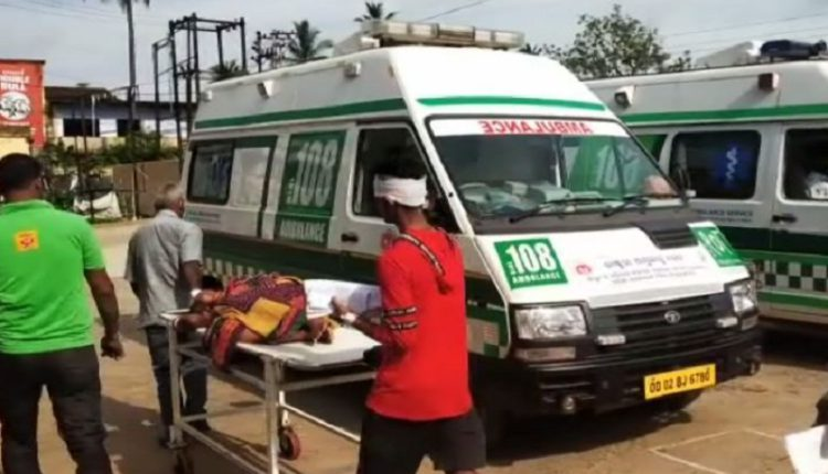 Ambulance carrying patients meets with accident; 1 killed, 3 critical