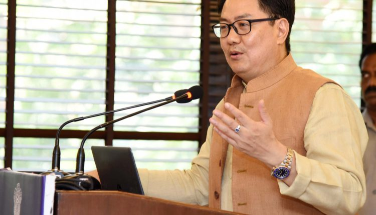 Kiren Rijiju says Sports will be part of curriculum in new education policy