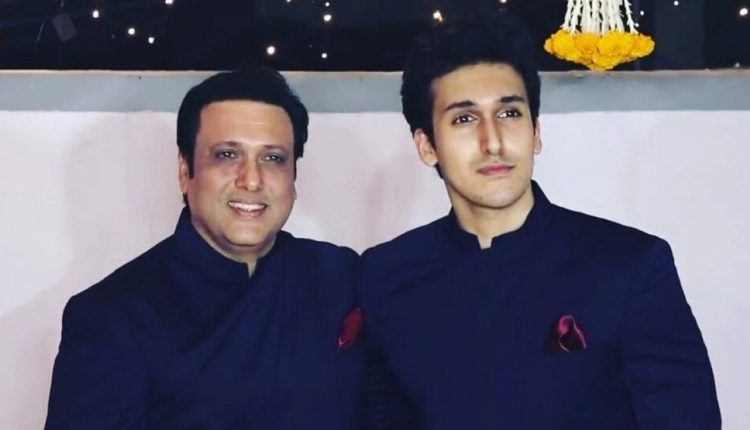 govinda's son met with an accident