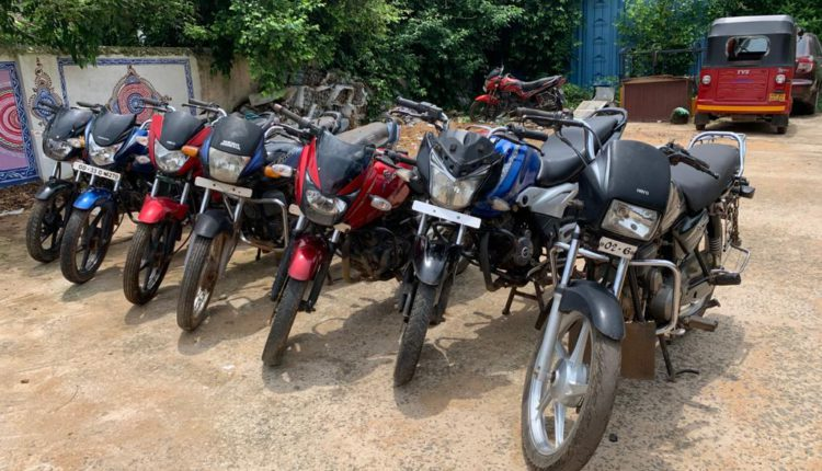 Two wheeler lifters gang busted in Bhubaneswar