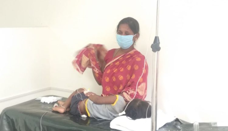 child critical as iron rod pierces his neck in Odisha