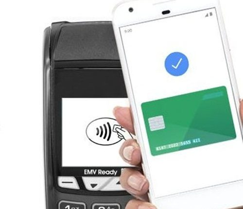 Google Pay tap to pay