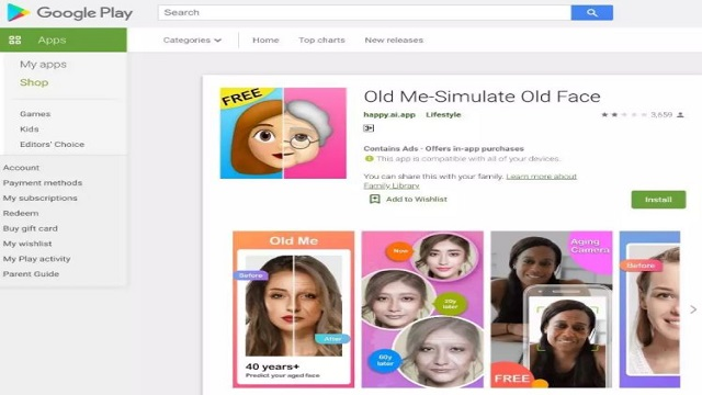 Old Me-Simulate Old Face app