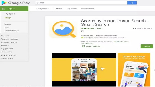 Search by Image app