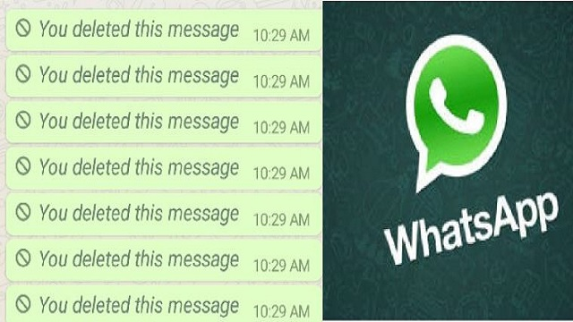 Here's how you can read deleted WhatsApp messages