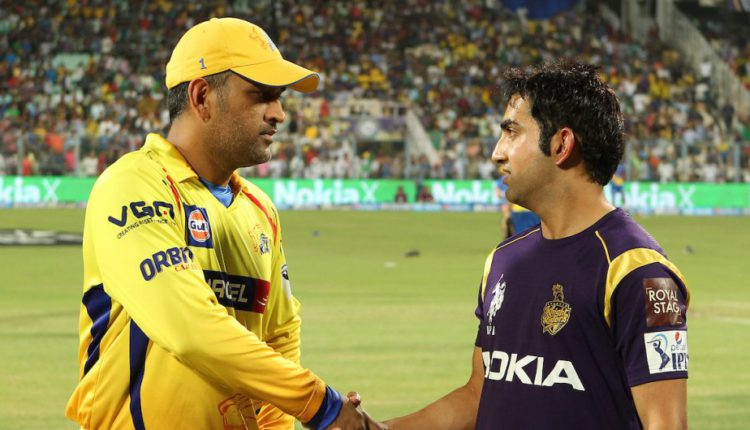 Gambhir Slams Dhoni for batting at No. 7