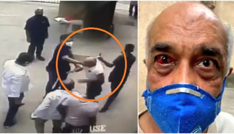 Former Navy officer attacked by Shiv Sena Worker