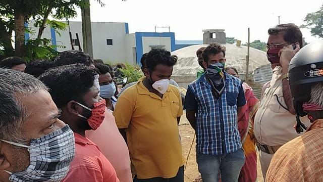 Protests Against Covid Crematorium Close To Locality In Odisha's Mayurbhanj