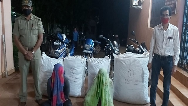 Two quintals of ganja seized; two arrested in Odisha's Koraput district