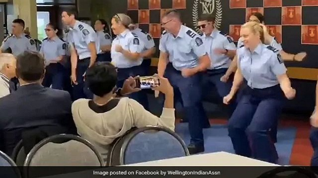 Video Of New Zealand Cops Dancing To Bollywood Songs To Celebrate Diwali Going Viral; Watch