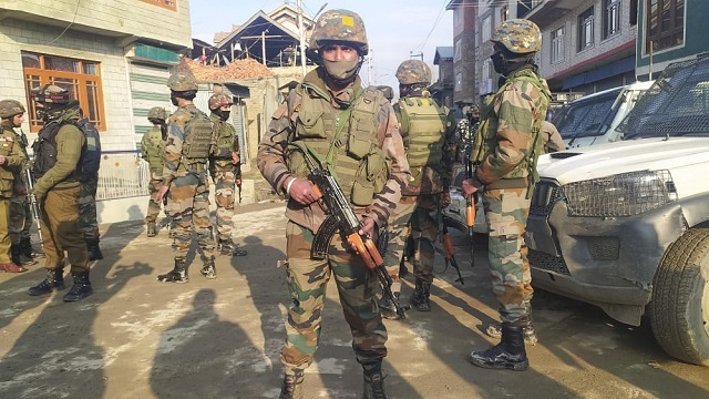 two soldiers killed in srinagar