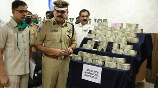 Rs 1 cr seized from kin of BJP's Dubbak bypoll candidate