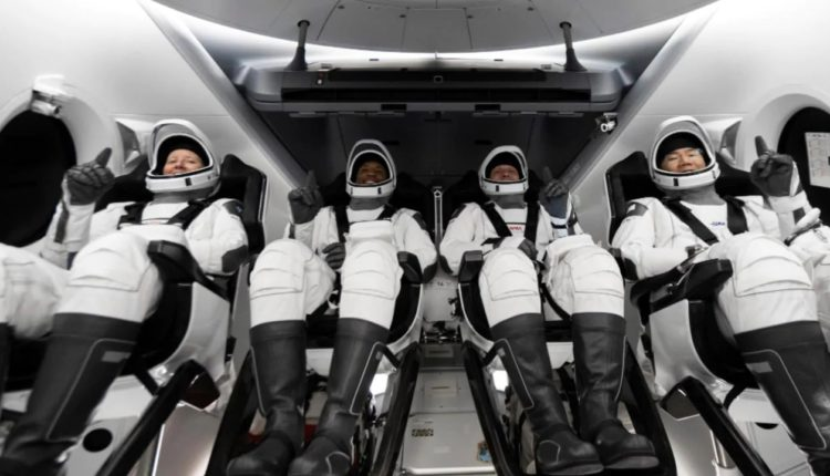 SpaceX Crew Dragon Capsule Docks