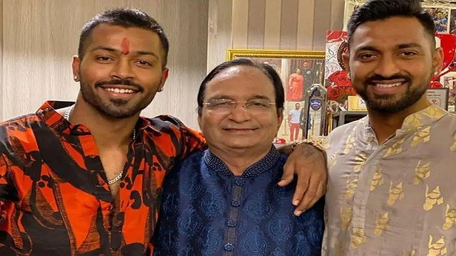 hardik pandya father passes away