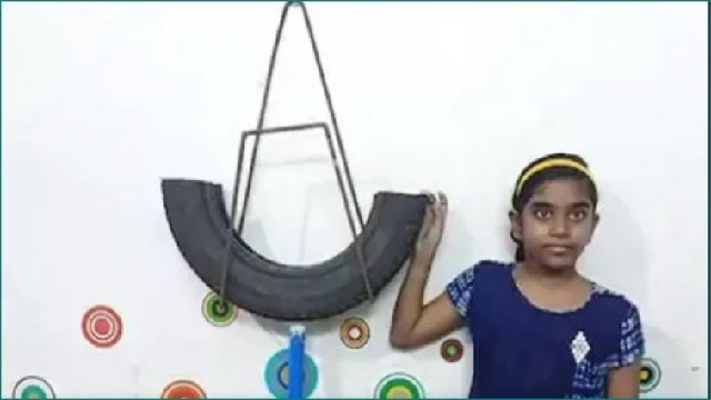 Tamil Nadu Girl Makes Homemade Eco-Friendly Mosquito Trap Using Old Tyres