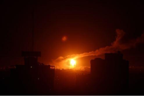 Israel attack on Gaza