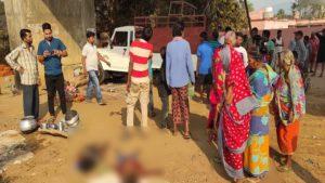 road accident in dhenkanal