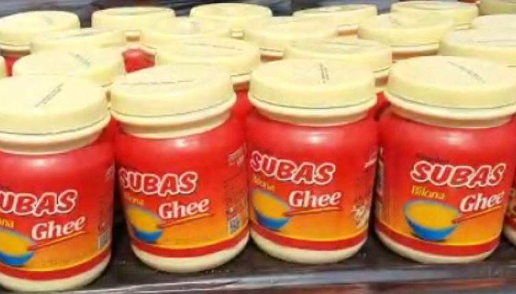 fake ghee unit busted