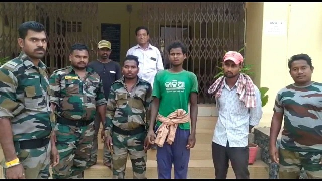 two poachers arrested