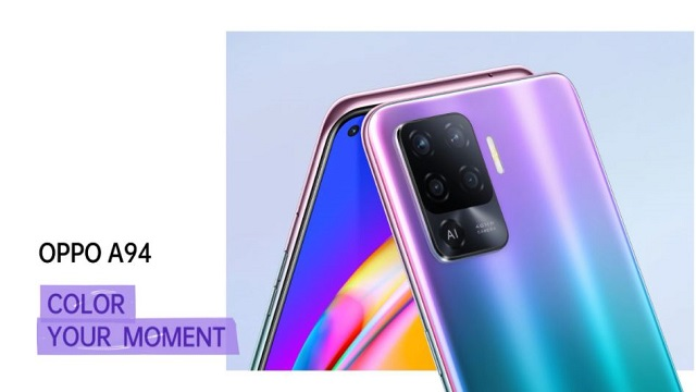 Oppo A94 launched