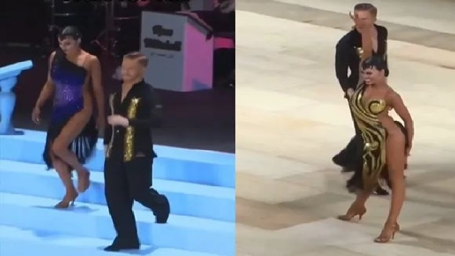 Woman 'Changes' Dress In Blink Of An Eye While Dancing