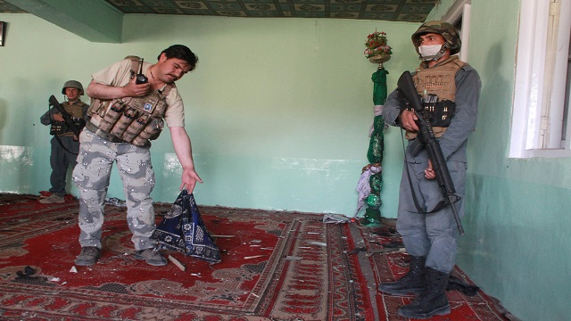 afghanistan mosque shooting