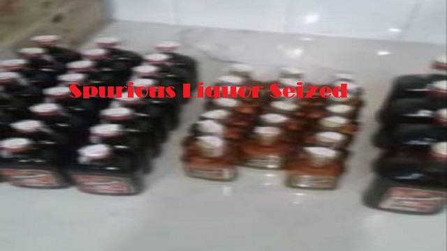 spurious liquor manufacturing unit busted