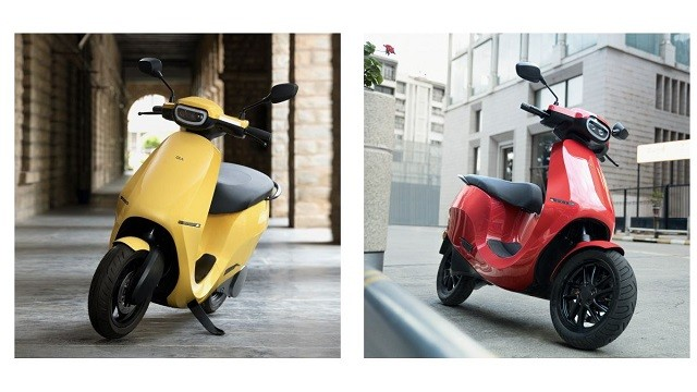 Ola electric scooter available colours