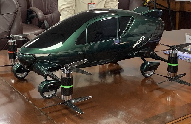Asia's first hybrid flying car